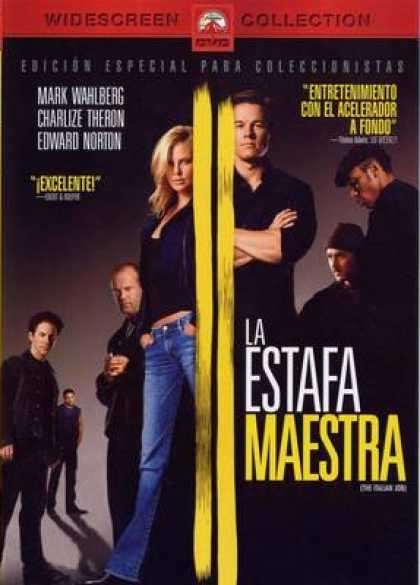 Spanish DVDs - The Italian Job