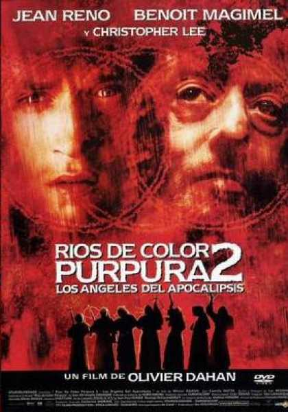 Spanish DVDs - The Crimson River 2