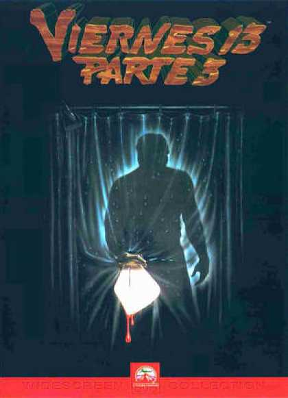 Spanish DVDs - The Friday 13th Part 3