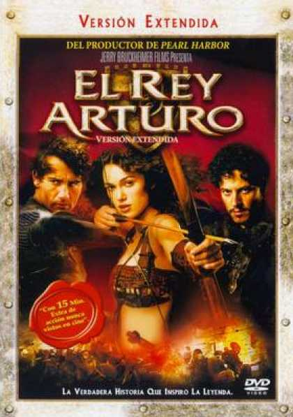 Spanish DVDs - King Arthur