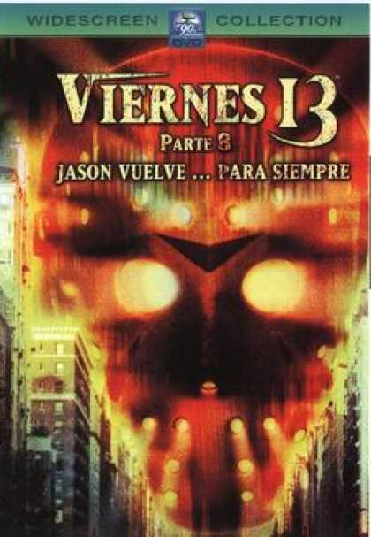 Spanish DVDs - Friday 13th Part 3