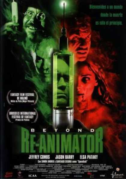 Spanish DVDs - Beyond Reanimator