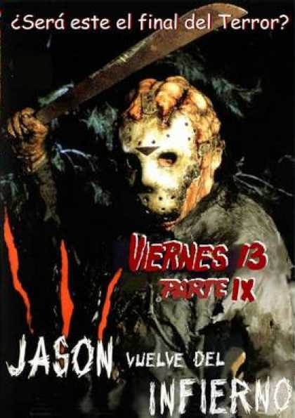 Spanish DVDs - Friday 13th Part 9