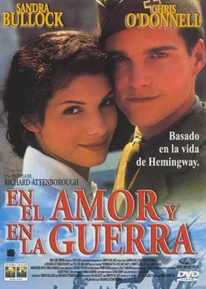 Spanish DVDs - In Love And War