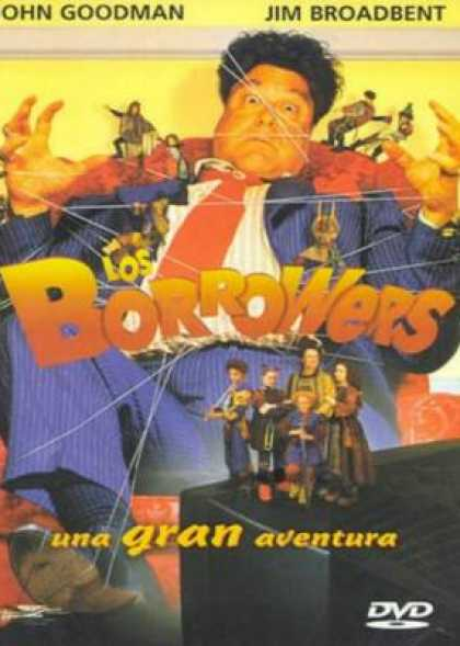 Spanish DVDs - Los Borrowers
