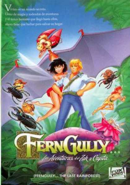 Spanish DVDs - Ferngully