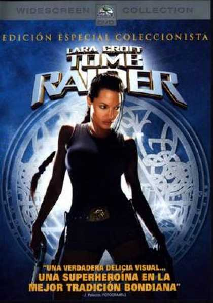 Spanish DVDs - Tomb Raider Widescreen Collection