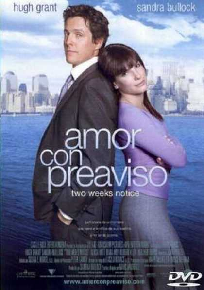 Spanish DVDs - Two Weeks Notice