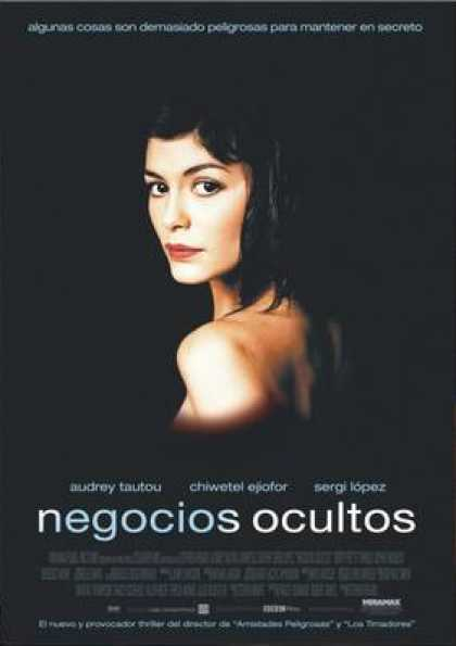 Spanish DVDs - Dirty Pretty Things