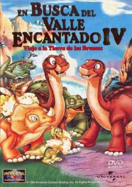 Spanish DVDs - The Land Before Time 4