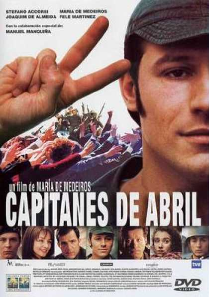Spanish DVDs - The Captains Of April
