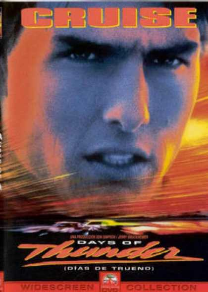 Spanish DVDs - Days Of Thunder Widescreen Collection
