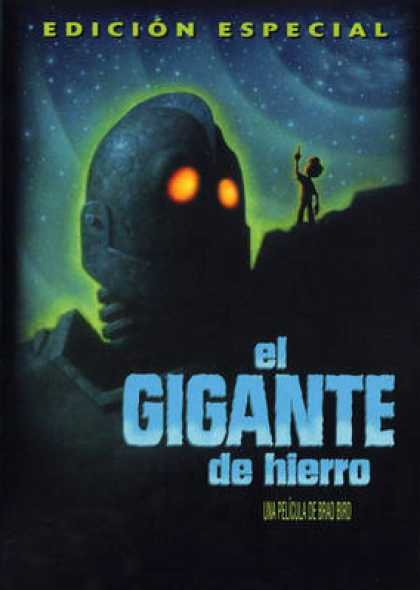 Spanish DVDs - The Iron Giant
