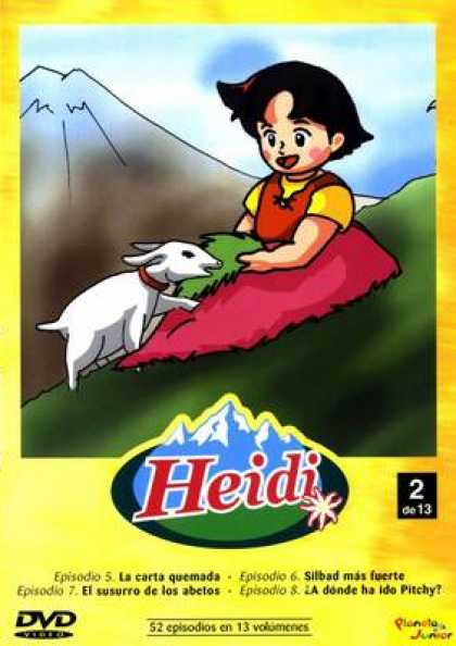 Spanish DVDs - Heidi The Collection Vol 2
