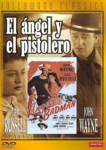 Spanish DVDs - The Angel And The Bad Man