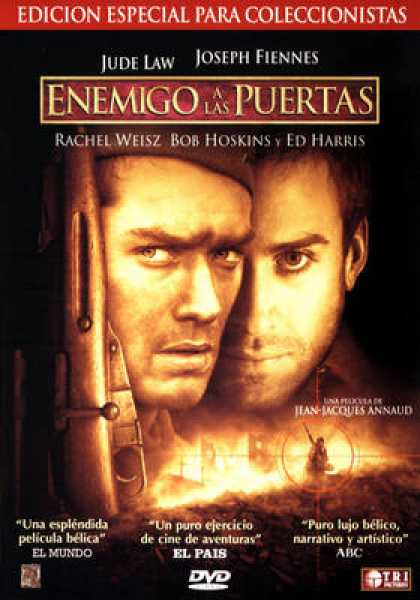 Spanish DVDs - Enemy At The Gates