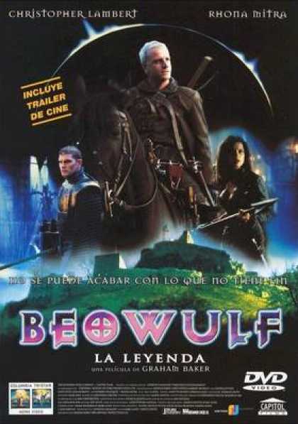 Spanish DVDs - Beowulf