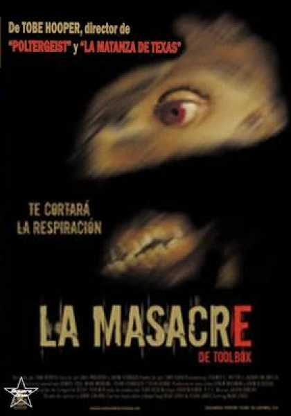 Spanish DVDs - The Toolbox Massacre