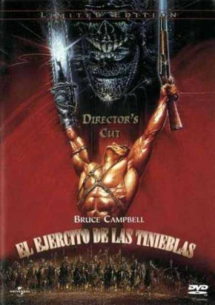 Spanish DVDs - Army Of Darkness