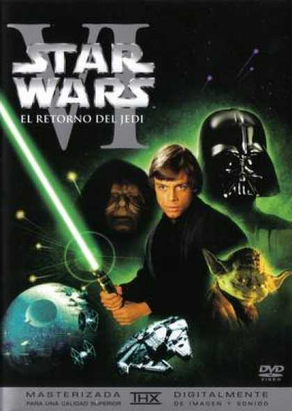 Spanish DVDs - Star Wars Trilogy Return Of The Jedi