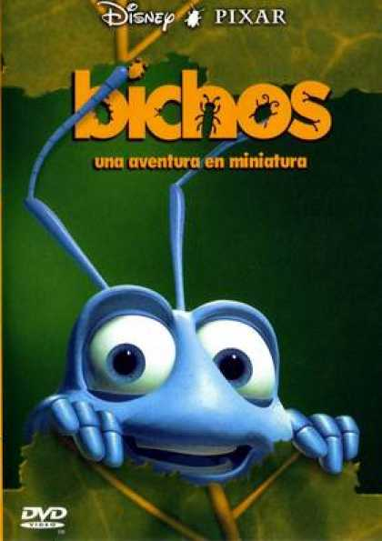 Spanish DVDs - A Bug's Life