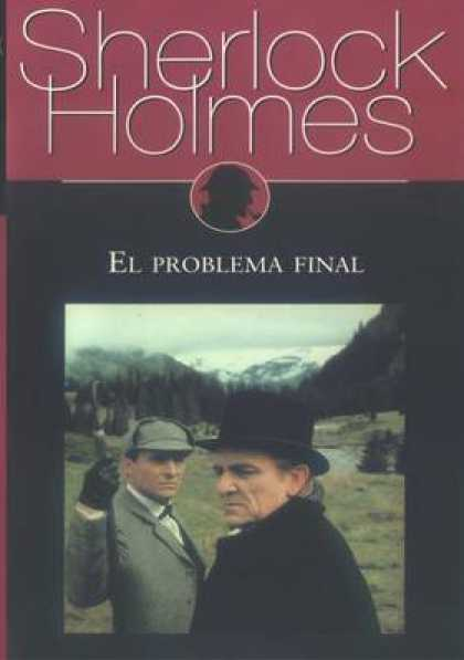 Spanish DVDs - Sherlock Holmes The Final Problem