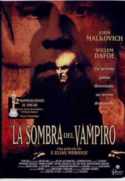 Spanish DVDs - Shadow Of The Vampire
