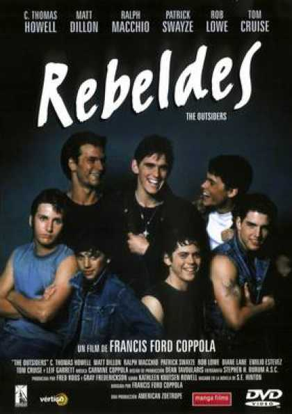 Spanish DVDs - The Outsiders