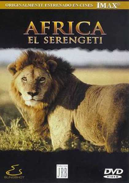 Spanish DVDs - Imax The Serengeti