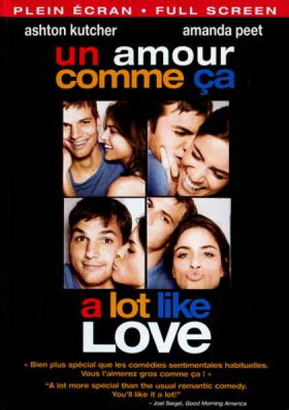 Spanish DVDs - A Lot Like Love