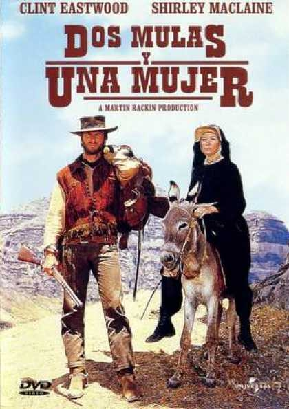 Spanish DVDs - Two Mules For Sister Sara