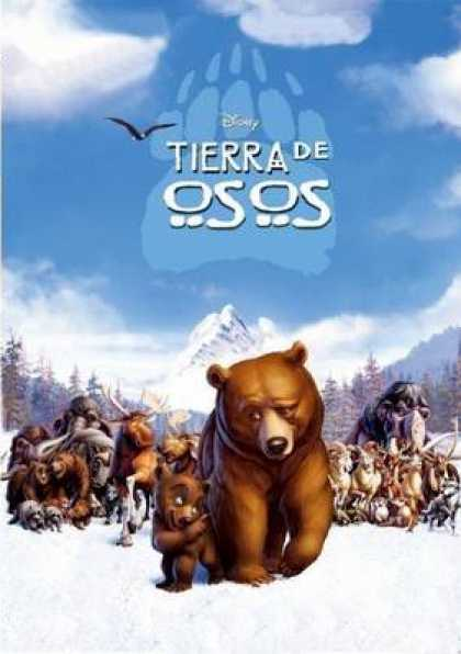 Spanish DVDs - Brotherbear