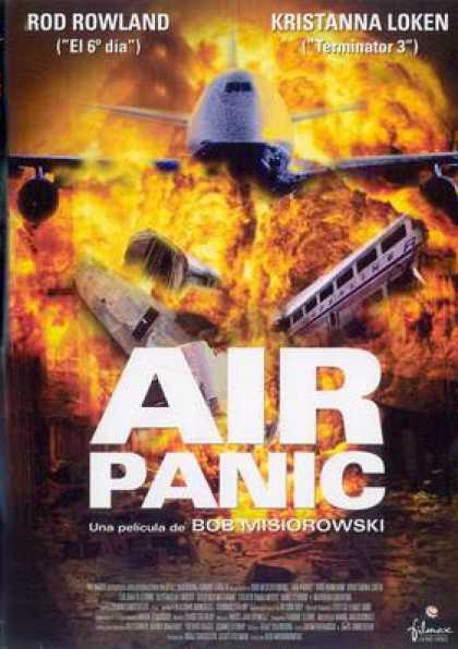 Spanish DVDs - Air Panic