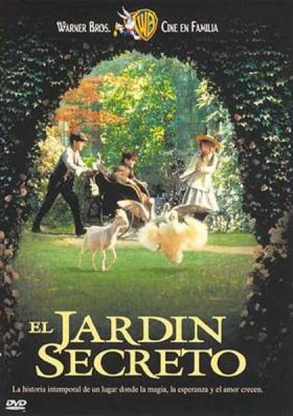 Spanish DVDs - The Secret Garden