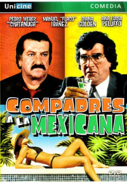 Spanish DVDs - Compadres A La Mexicana