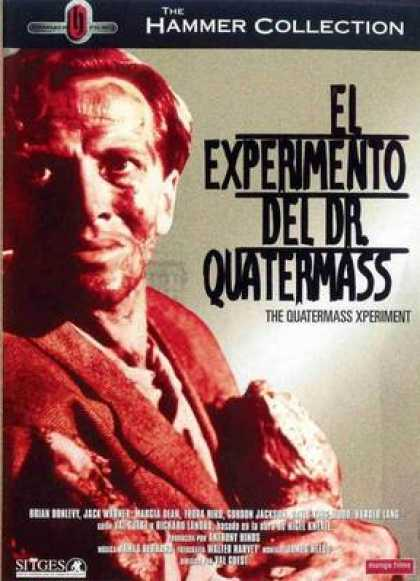 Spanish DVDs - The Quartermass Experiment