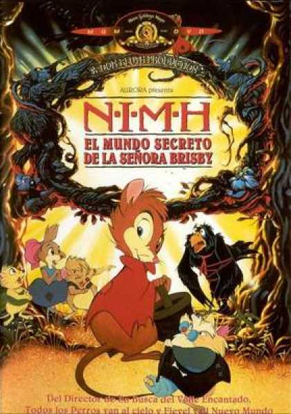 Spanish DVDs - The Secret Of Nimh