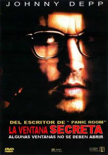 Spanish DVDs - Secret Window