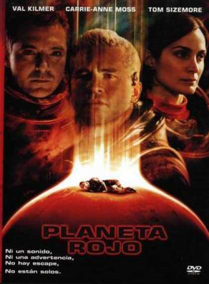 Spanish DVDs - Red Planet