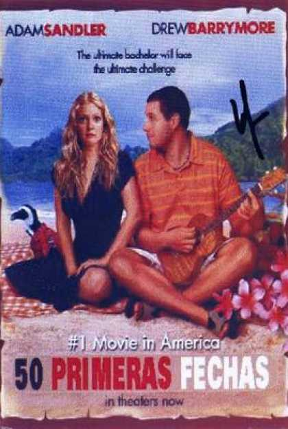 Spanish DVDs - 50 First Dates