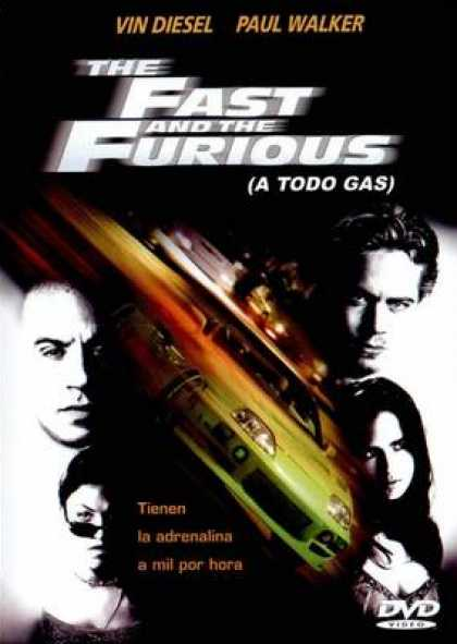 Spanish DVDs - The Fast And Furious