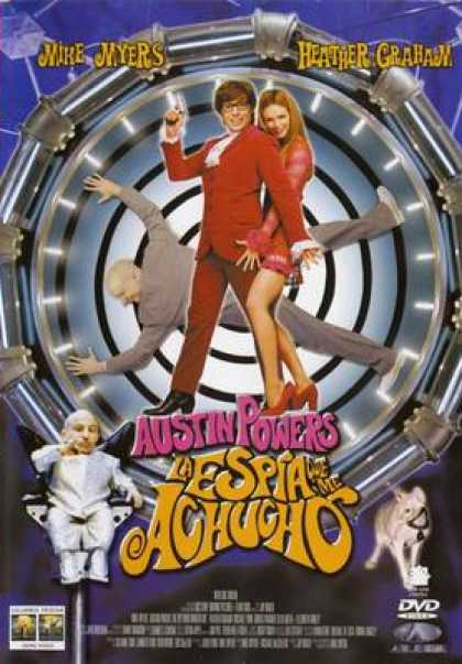 Spanish DVDs - Austin Powers The Spy Who Shagged Me