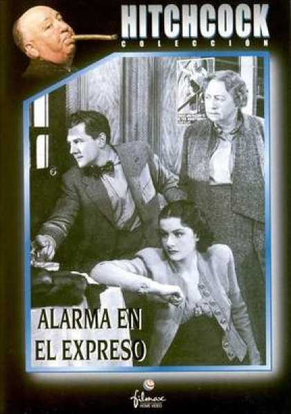 Spanish DVDs - The Lady Vanishes