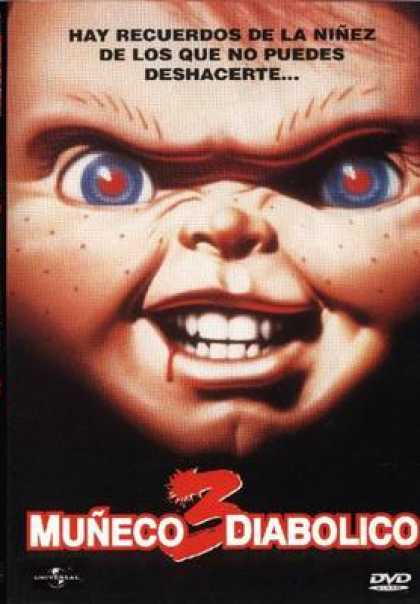 Spanish DVDs - Childs Play 3