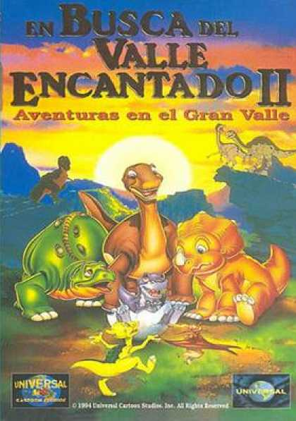 Spanish DVDs - The Land Before Time 2