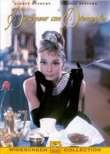 Spanish DVDs - Breakfast At Tiffanys