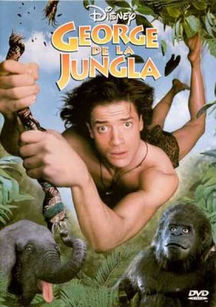 Spanish DVDs - George Of The Jungle