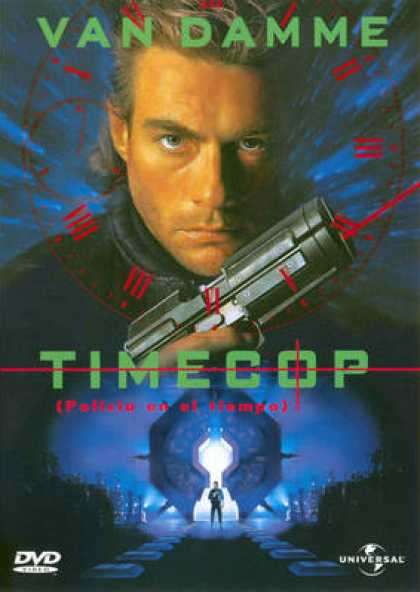 Spanish DVDs - Timecop