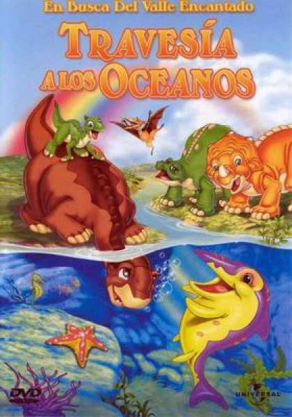 Spanish DVDs - The Land Before Time 7