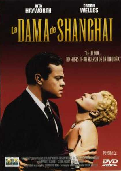 Spanish DVDs - The Lady From Shanghai